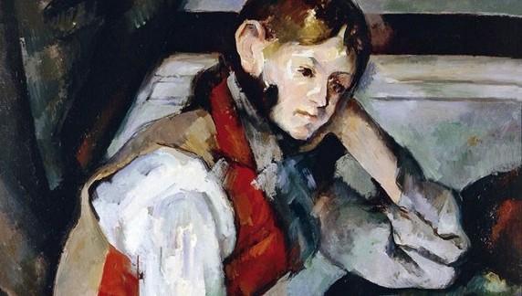 Cezanne - Boy in the Red Waistcoat