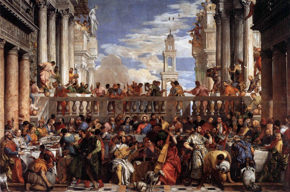 Paolo Veronese - The Wedding Feast At Cana